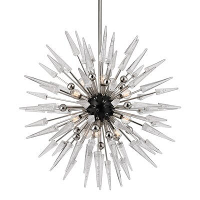 Roesch 12-Light Sputnik Chandelier Finish: Polished Nickel