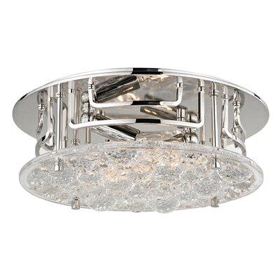 Carterton 2-Light Semi Flush Finish: Polished Nickel