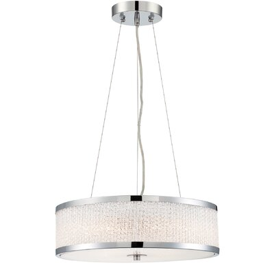 Beraun 4-Light Drum Pendant