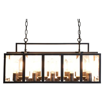Fresin 10-Light Kitchen Island Pendant