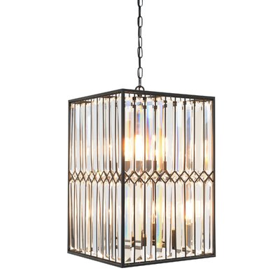 8-Light Foyer Pendant Size: 26 H x 16 W x 16 D