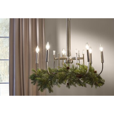 Branagh 6-Light Candle-Style Chandelier