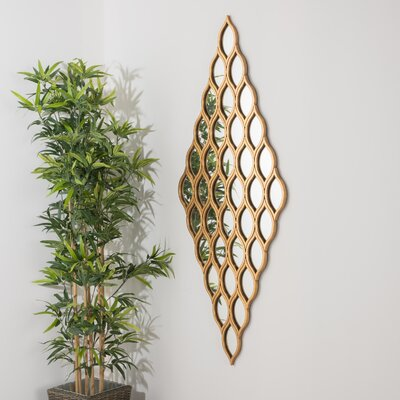 Denys Contemporary Diamond Wall Mirror