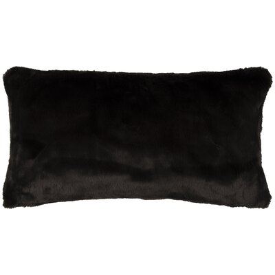 Gisele Lumbar Pillow Color: Black