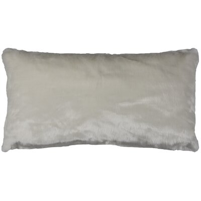 Gisele Lumbar Pillow Color: White