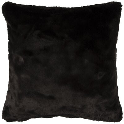 Niccolo Throw Pillow Cover Color: Black