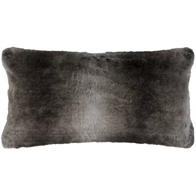 Fowler Lumbar Pillow Cover Color: Taupe