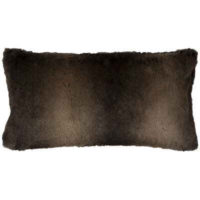Fowler Lumbar Pillow Cover Color: Brown
