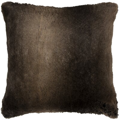 Chagford Throw Pillow Cover Color: Brown