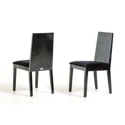 Felix Side Chair Finish: Black