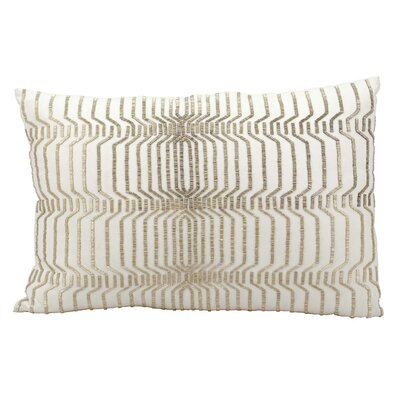Geocron Beading Lumbar Pillow