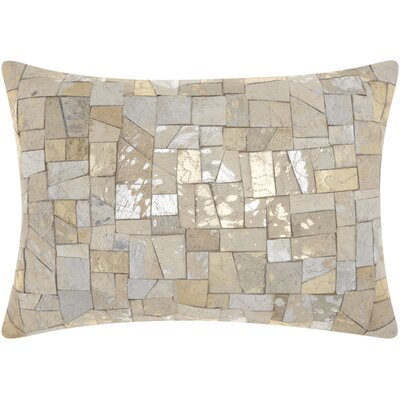 Gilby Mosaic Cut Lumbar Pillow