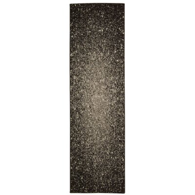 Blasco Gray Area Rug Rug Size: Runner 22 x 76