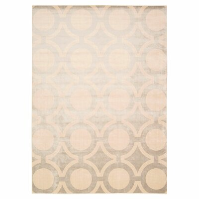 Chaudeville Cream Gray Rug Rug Size: Rectangle 93 x 129