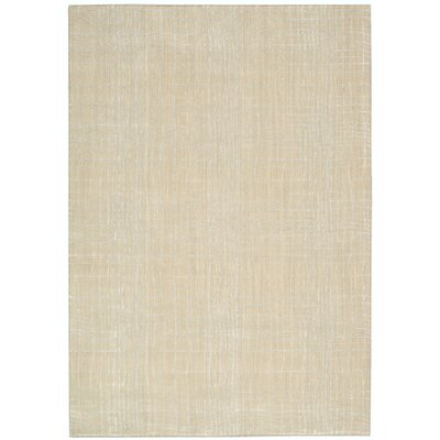 Terrence Beige Area Rug Rug Size: Rectangle 53 x 75