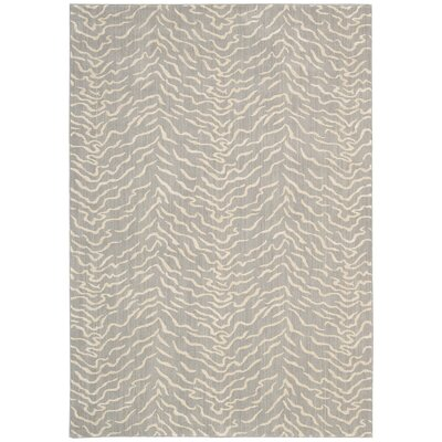 Darcia Quartz Gray Area Rug Rug Size: Rectangle 36 x 56