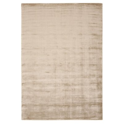 Buiron Beige Chic Area Rug Rug Size: 76 x 106