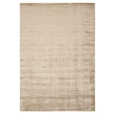 Buiron Beige Chic Area Rug Rug Size: 53 x 75