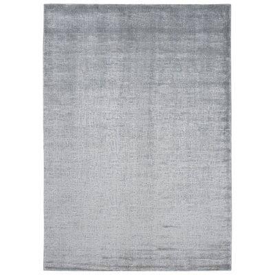Buiron Gray Area Rug Rug Size: Rectangle 93 x 129