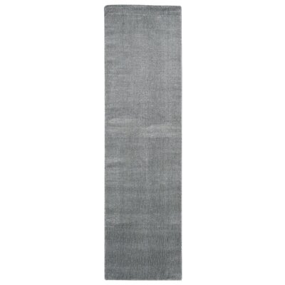 Buiron Gray Area Rug Rug Size: Runner 23 x 8
