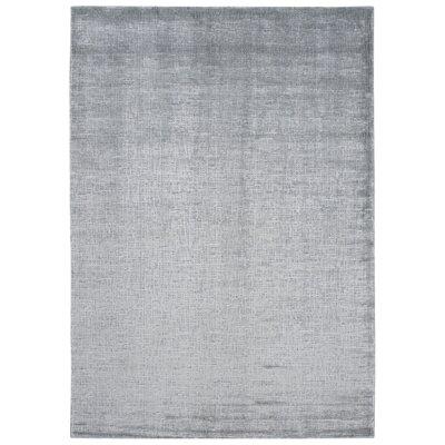 Buiron Gray Area Rug Rug Size: 93 x 129