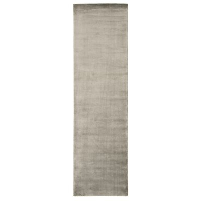 Buiron Pewter Area Rug Rug Size: Runner 23 x 8