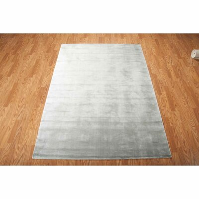 Buiron Pewter Area Rug Rug Size: 76 x 106