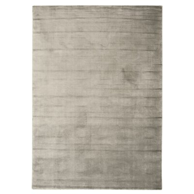 Buiron Pewter Area Rug Rug Size: 53 x 75