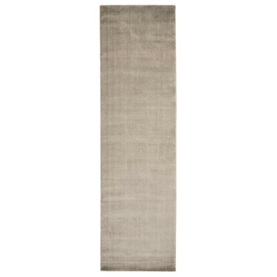 Buiron Taupe Area Rug Rug Size: Runner 23 x 8