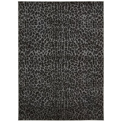 Colletta Charcoal Area Rug Rug Size: Rectangle 710 x 106