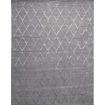 Zoey Gray Area Rug Rug Size: Rectangle 86 x 116