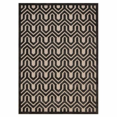 Beaconsfield Charcoal Area Rug Rug Size: 53 x 73