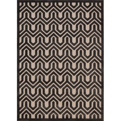 Beaconsfield Charcoal/Ivory Area Rug Rug Size: 79 x 1010