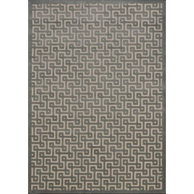 Blondelle Ivory/Green Area Rug Rug Size: Rectangle 76 x 96