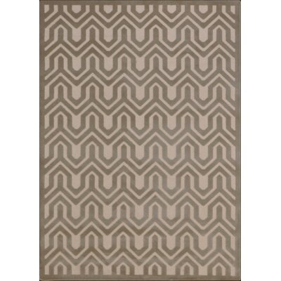 Beaconsfield Ivory/Light Gray Area Rug Rug Size: 53 x 73
