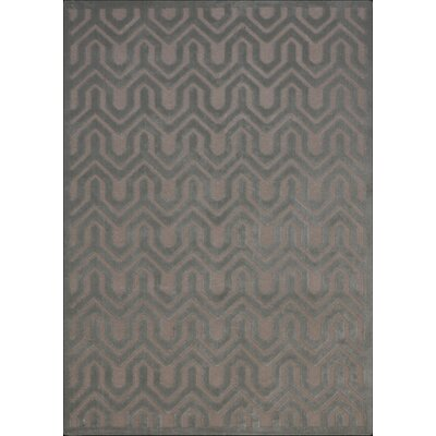 Beaconsfield Silver/Green Area Rug Rug Size: Rectangle 53 x 73