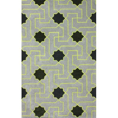 Beselare Grey Area Rug Rug Size: 5 x 8
