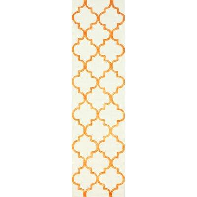 Beselare Biege Area Rug Rug Size: Runner 26 x 10
