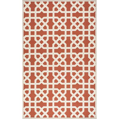 Bletchley Terracota Area Rug Rug Size: 5 x 8