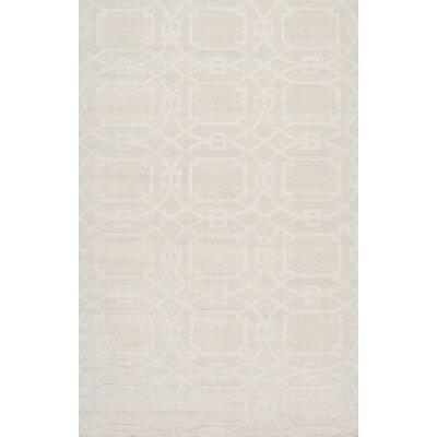 Cherelle Cream Area Rug Rug Size: 86 x 116