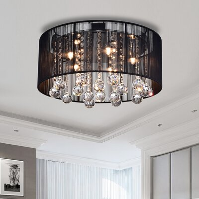 Heloise 5-Light Flush Mount