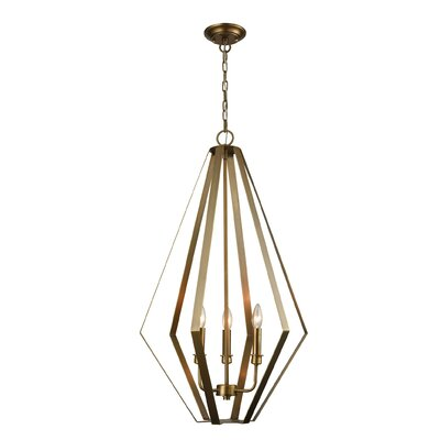 Boussingault 3-Light Foyer Pendant