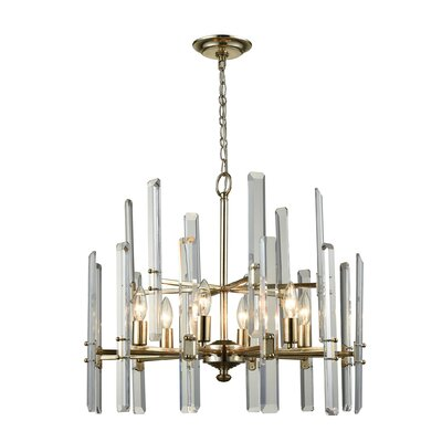 Bowie 6-Light Candle-Style Chandelier
