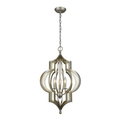 Brackley 3-Light Foyer Pendant