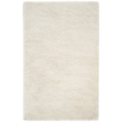 Marsha Hand-Tufted Ivory Area Rug Rug Size: Rectangle 5 x 8