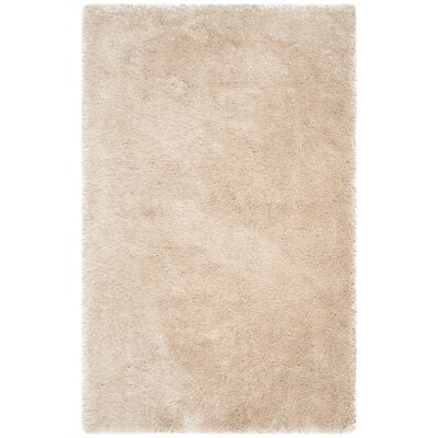 Darlene Hand-Tufted Taupe Area Rug Rug Size: Rectangle 5 x 8