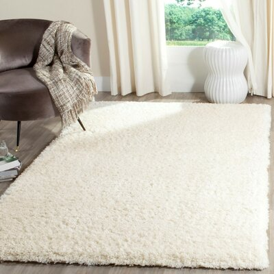 Oriana Creme Area Rug Rug Size: Rectangle 4 x 6