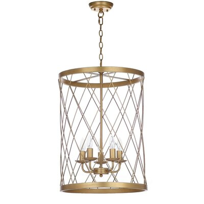 Handley 5-Light Drum Pendant