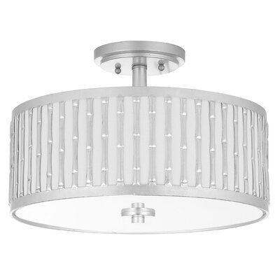 Icterine 3-Light Semi Flush Mount