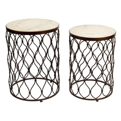 Kenilworth 2 Piece End Table Set